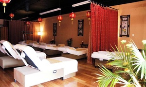 Massage Package Or Neck And Shoulder Massage At Happy Feet – Massage, Nail & Skincare (up To 44% Off)