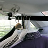 Extendable Car Clothes Bar