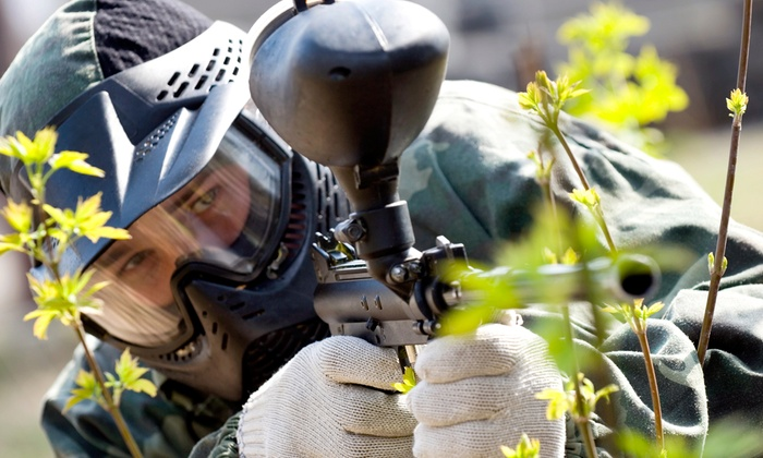 BattlegroundZ - BattlegroundZ: Paintball with Equipment Rental for 4, 8, or 12 at BattlegroundZ (Up to 78% Off)