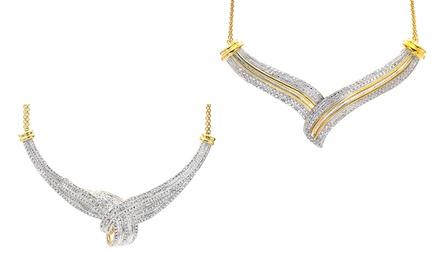 1.00 or 2.00 CTTW Diamond Pendant