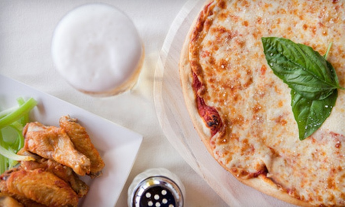 Little Joey's Famous NY Pizza and Wings - Biddeford: Pizza, Wings, and Sandwiches at Little Joey's Famous NY Pizza and Wings (Up to 52% Off). Two Options Available.