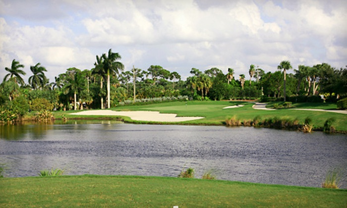 Palm Cove Golf & Yacht Club - Palm City: 18-Hole Round of Golf for Two or Four Including Cart and Range Balls at Palm Cove Yacht and Golf Club (Half Off)