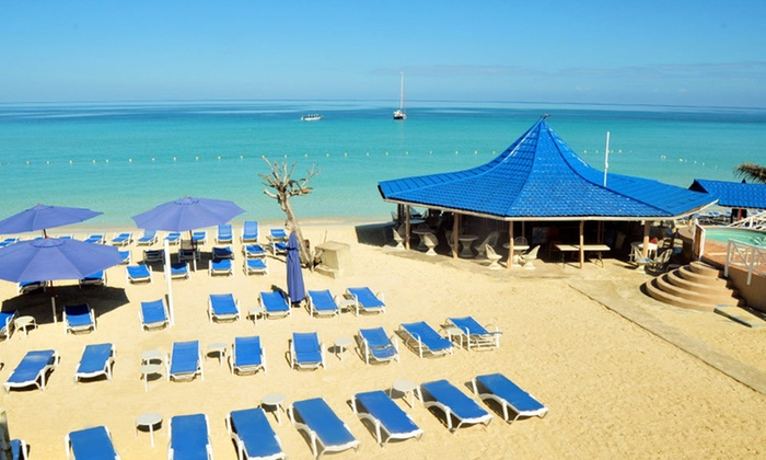 Laid Back Jamaican Resort On White Sand Beach