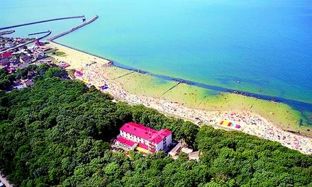 Wybrzeże:1-7 nocy dla 2 osób z pełnym wyżywieniem, dostęp do sauny, basenu i więcej w Plaza Resort Spa & Restaurante