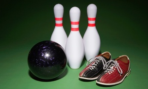 Kennedy Bowl: One Hour of Bowling with Shoe Rental for Up to 6 or 12 at Kennedy Bowl (Up to 77% Off)
