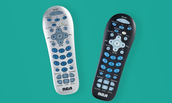 Rca Universal Remote Control Groupon Goods
