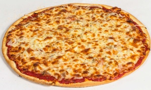 """Tortorice's: $19.95 for Dine-In Only Meal of 16"""" Thin Crust Cheese Pizza & Sides at Tortorice's ($24.90 value)"""