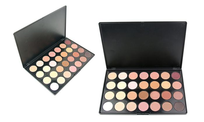 Beaute Basics 28-Color Eye Shadow Palette: Beaute Basics 28-Color Eye Shadow Palette