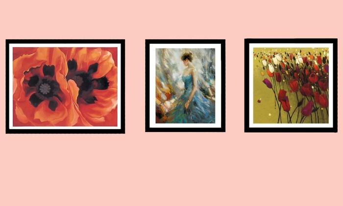 Barewalls.com: $30 for $60 Worth of Posters and Framed Decorative Art from Barewalls.com