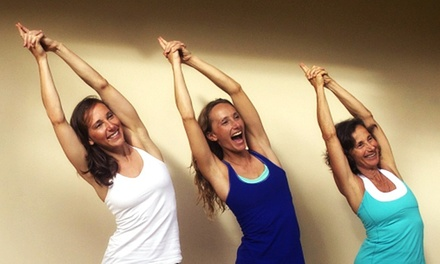 30 or 60 Days of Unlimited Hot Yoga at Moksha Yoga (80% Off)