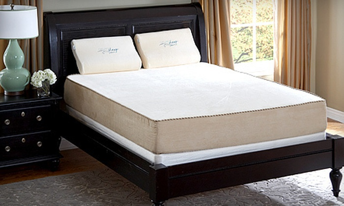 Nature's Sleep: Memory-Foam Mattresses with Shipping Included from Nature's Sleep (Up to 70% Off). Three Options Available.