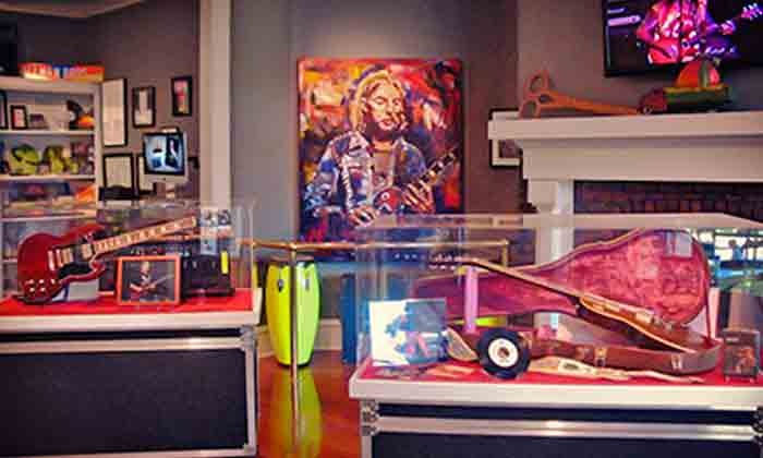 The Allman Brothers Band Museum at the Big House - Macon: The Allman Brothers Band Museum at the Big House Visit or Membership (Up to 54% Off). Five Options Available.