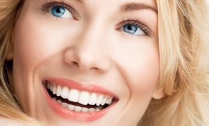 Limpieza bucal completa con blanqueamiento dental led por 59,95 €
