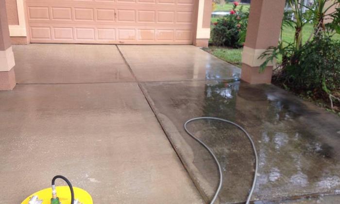 The Pressure Guys, LLC - Orlando: Sidewalk or Concrete Pressure Washing from The Pressure Guys, LLC (60% Off)