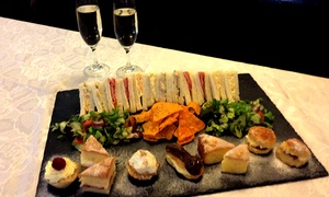 King William IV: Afternoon Tea With Prosecco For Two (£12) or Four (£22) at King William IV (Up to 62% Off)
