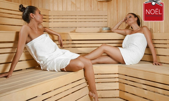 AT SPA VILLA - Blandain: 1 ou 2h de spa privatif en duo avec hammam, sauna, jacuzzi, piscine, cocktails ou champagne chez At Spa Villa (dès 39€)