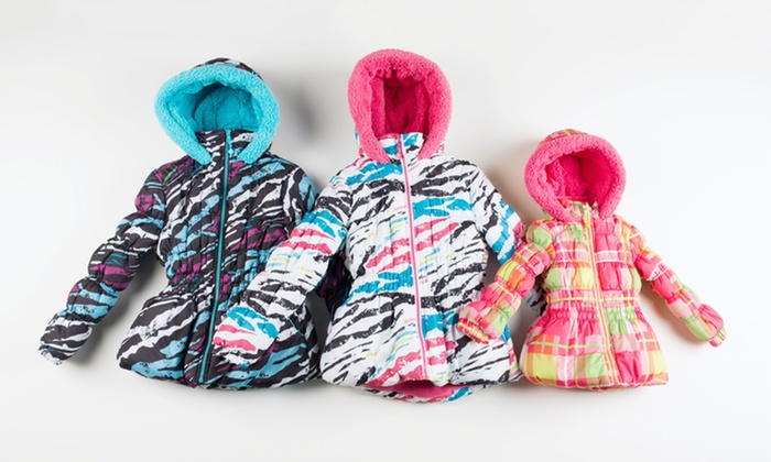 Big Chill Toddler to Big Girls Zebra and Plaid Puffer Jackets: Big Chill Toddler to Big Girls Zebra and Plaid Puffer Jackets. Multiple Styles Available. Free Returns.