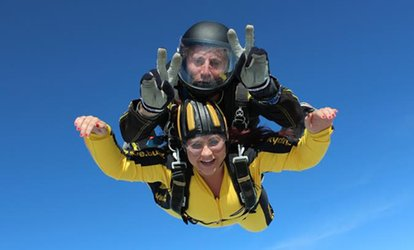 image for Skydive Package with DVD from Skydive Buzz (33% Off)