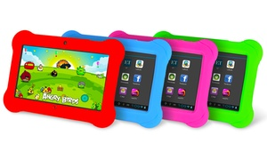 """Orbo Jr. 4GB 7"""" Kids' Tablet with Android OS and Silicone Gel Case: Orbo Jr. 4GB 7"""" Kids' Tablet with Android OS and Silicone Gel Case"""