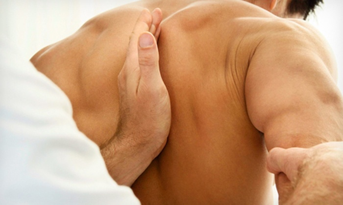 Therapy Solutions - Dana Point: Chiropractic Package with One or Three 60-Minute Massages at Therapy Solutions (Up to 91% Off)