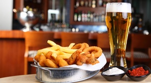 The Old Waterfall Bar & Grill: 60% off at The Old Waterfall Bar & Grill