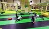 Cours collectif des sports à obstacles