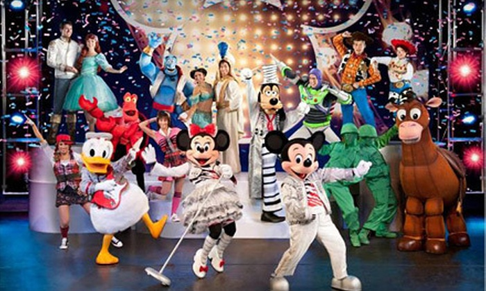 """""""Disney Live! Mickey's Music Festival"""" - Savannah: """"Disney Live! Mickey's Music Festival"""" at BB&T Center on Friday, March 1, at 4 p.m. or 7 p.m. (Up to 31% Off)."""