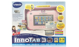 VTech InnoTab 3S Learning Tablet with $20 Gift Card: VTech InnoTab 3S Kids' Learning Tablet with Bonus $20 Gift Card