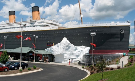 $55 for a Museum Visit for Two with $25 Gift-Shop Credit at Titanic Branson ($79 Value)