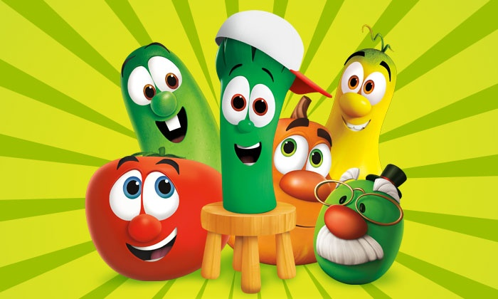"Veggie Tales Live - Wellmont Theater: ""VeggieTales Live! Little Kids Do Big Things"" on November 15 at 4 p.m. or 7 p.m."