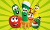 "Veggie Tales Live - Comerica Theater: ""VeggieTales Live! Little Kids Do Big Things"" on October 25 at 3 p.m."