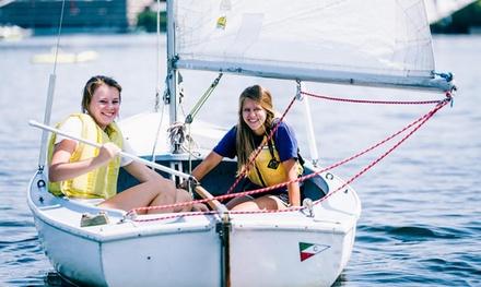 $67 for 30-Day Sail, Kayak, and Paddleboard Membership at Community Boating Inc. ($99 Value)