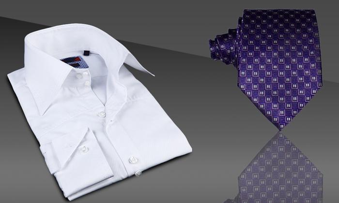 Brio Men's Fashion Ties and Dress Shirts: Brio Men's Fashion Tie or Dress Shirt. Multiple Styles Available. Free Returns.