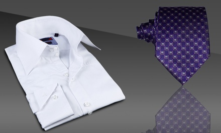 Brio Men's Fashion Tie or Dress Shirt. Multiple Styles Available. Free Returns.