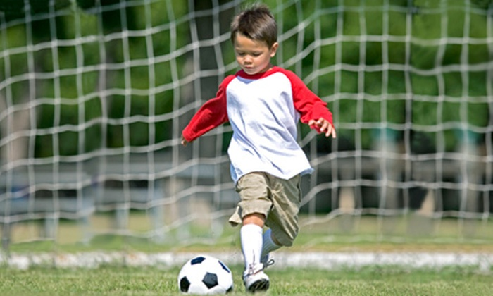 Little Legends Soccer Academy - Multiple Locations: Children's Soccer Camps at Little Legends Soccer Academy (Up to 53% Off). 22 Options Available.