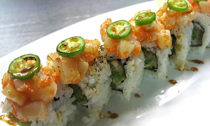 Zen Japanese Restaurant - Dundarave: C$15 for C$30 Worth of Sushi and Japanese Fare for Two at Zen Japanese Restaurant