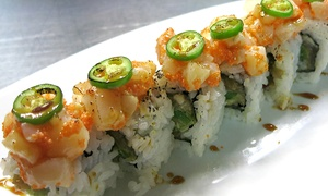 Zen Japanese Restaurant: CC$15 for CC$30 Worth of Sushi and Japanese Fare for Two at Zen Japanese Restaurant