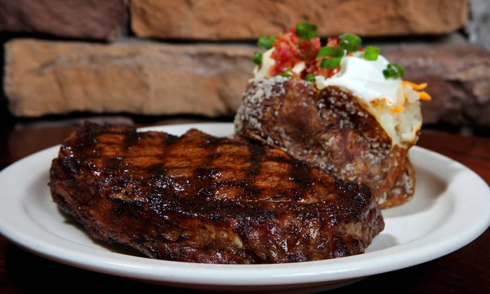 Santa Fe Cattle - Midwest City: $11 for $20 Worth of Steaks, Ribs, and Fajitas at Santa Fe Cattle