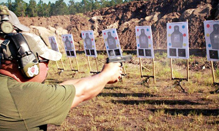 Ancient City Shooting Range  - St. Augustine: NRA FIRST Steps Pistol Class with Optional NRA Membership from Ancient City Shooting Range in St. Augustine (Up to 56% Off)