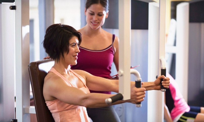 Get in Shape For Women - Newport: 10 or 12 Group Training Sessions and More at Get In Shape For Women (Up to 72% Off)