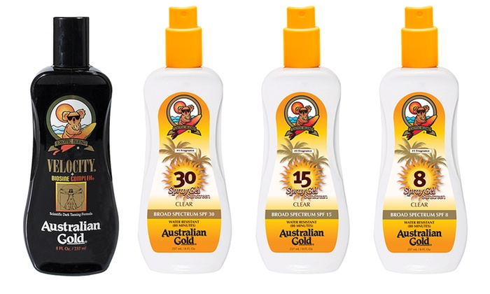 OR Print $1/1 Coppertone Sunscreen Product Coupon *HERE* Pay=$ Receive $ ECB Total= $ each WYB/2 Receive $ ECB WYS/$ limit 1 ALL Australian Gold SAVE $ off retail BUY 2 Australian Gold Spray Gel with Bronzer 8 oz. – psa $ ea. (sale price).