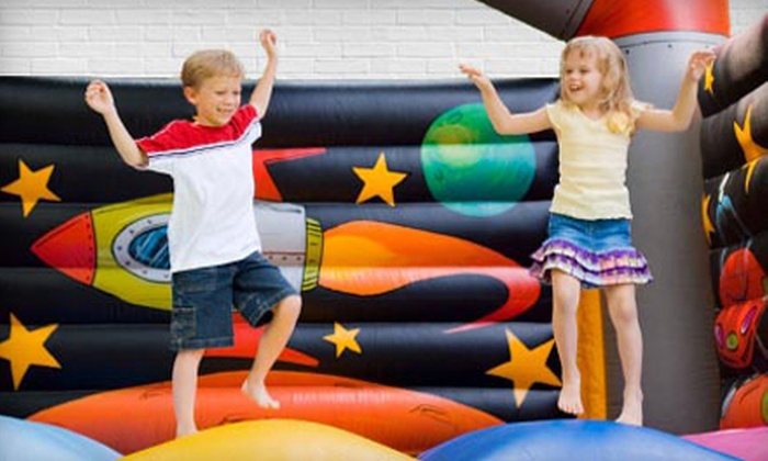 Jump-N-Play - Columbus GA: $59 for an All-Day Bounce-House Rental from Jump-N-Play ($290 Value)