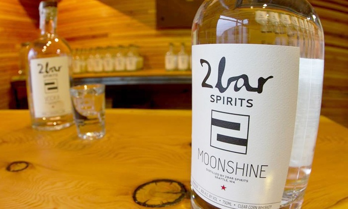 2bar Spirits - SoDo: Distillery Tour with Tasting for Two or Four at 2bar Spirits (Up to 53% Off). Four Options Available.