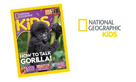 12Month Subscription to National Geographic Kids Magazine