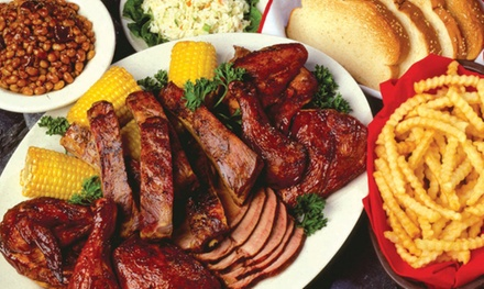 Barbecue Dinner for Two or Four, or $11 for $20 Worth of Barbecue at Woody's Bar-B-Q