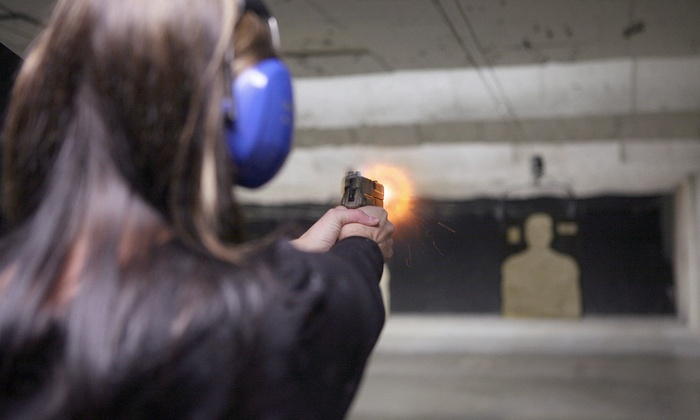 Firepower Inc - Matthews: Shooting Range Packages for One or Two at Firepower Inc (Up to 77% Off)