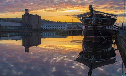 image for Historic Warship: Family Entry to HM Frigate Unicorn for £6.50 (46% Off)