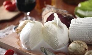 Basilico Fresco: 1,5 kg di formaggi tipici pugliesi più una bottiglia di vino a scelta da Basilico Fresco (sconto fino a 38%)