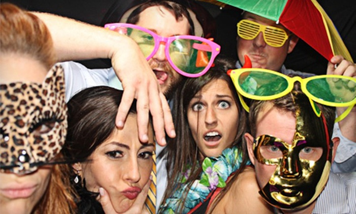 Snap Photobooth - Greenway - Upper Kirby: Two- or Four-Hour Photo-Booth Rental from Snap Photobooth (62% Off)