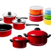 Imperial Home Nonstick Carbon Steel Cookware & Storage Set (21-Piece)